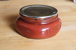 Homemade ketchup canned (4156502791).jpg