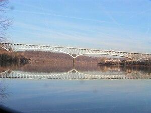Homestead Grays Bridge - View of the Homestead Grays Bridge