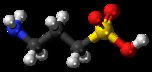 Homotaurine - Image: Homotaurine 3D balls