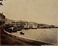 Hong Kong; view along the harbour front. Photograph. Wellcome V0037354.jpg