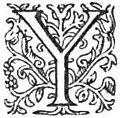 Horace Odes etc tr Conington (1872) - Capital Y.jpg