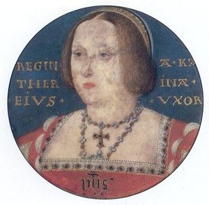 1526 in art - Image: Horenbout Catherine of Aragon
