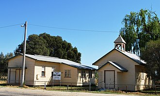 Horfield, Victoria - Uniting church and hall, 2008