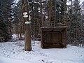 Horní rozcestí u Pilské, přístřešek.jpg