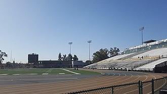 Hornet Stadium (Sacramento) - Image: Hornet Stadium (Sacramento State)