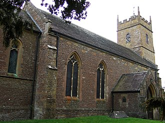 Horsington, Somerset - Image: Horsington church