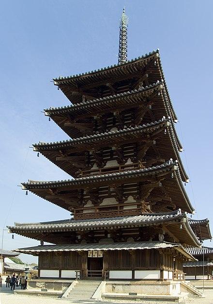 Buddhist Monuments In The Hōryu Ji Area Wikiwand
