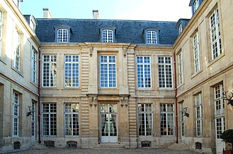 Hôtel particulier - Hôtel de Guénégaud in Paris.