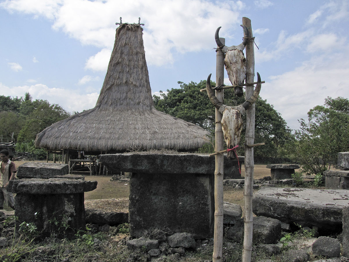 Rumah Adat Sumba Bahasa Indonesia Ensiklopedia