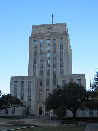Administrative divisions of Texas - Houston City Hall