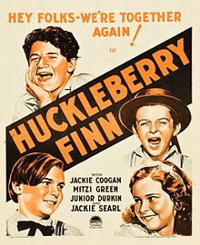 Description de l'image Huckleberry-Finn-1931-Window-Card.jpg.