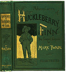 How does Huck Finn adapt to the situations he comes across?