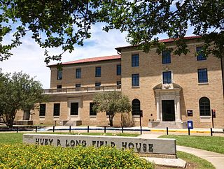 Huey P. Long Field House Campus of Louisiana University in Baton Rouge