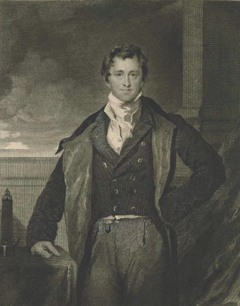 Humphry Davy Engraving 1830