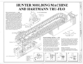 Hunter Molding Machine and Hartmann Tru-Flo - Southern Ductile Casting Company, Bessemer Foundry, 2217 Carolina Avenue, Bessemer, Jefferson County, AL HAER ALA,37-BES,5- (sheet 6 of 9).png