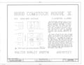 Hurd Comstock House No. 2, 1631 Ashland Avenue, Evanston, Cook County, IL HABS ILL,16-EVAN,3- (sheet 1 of 7).png