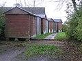 Huts, Ferone Drive - geograph.org.uk - 1048993.jpg