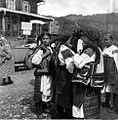 Hutsuls in Verkhovyna city (Ukraine), 1934.jpg