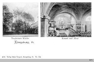 Tragheim Church - Image: ID003843 B273 Tragheimer Kirche