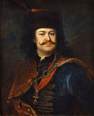 Francis II Rákóczi - Francis II Rákóczi (painted by Ádám Mányoki)
