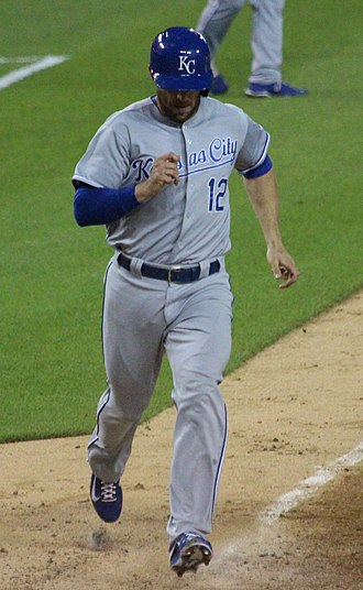 Brett Hayes - Hayes with the Kansas City Royals