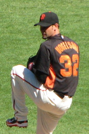 Ryan Vogelsong - Vogelsong with the San Francisco Giants 2011