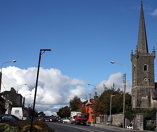 Ballymahon Town in Leinster, Ireland