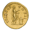 INC-1843-r Ауреус Элий Вер цезарь ок. 137 г. (реверс).png
