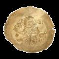 INC-1871-a Номисма иперпер. Иоанн II Комнин. Ок. 1118—1143 гг. (аверс).png