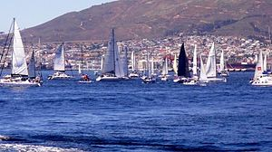 INSV Mhadei in the Cape to Rio ocean sailing race in 2011.jpg