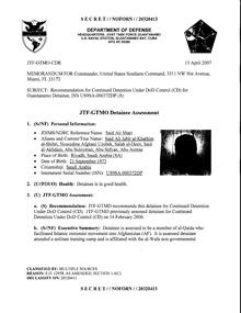 ISN 00372, Said Ali Shiri's Guantanamo detainee assessment.pdf
