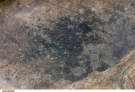 Damascus in 2006, taken from the International Space Station ISS013-E-82035.jpg