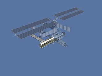 STS-112 - Illustration of the International Space Station after STS-112.
