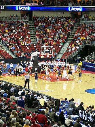 Iowa State Cyclones - ISU women's basketball game against Georgia Tech in 2008