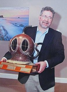 Innes McCartney Nautical archaeologist