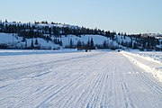 Ice Road on Great Slave Lake 2