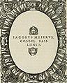 Icones, id est, Verae imagines virorum doctrina simul et pietate illustrium, - quorum praecipuè ministerio partim bonarum literarum studia sunt restituta, partim vera religio in variis orbis (14565593737).jpg