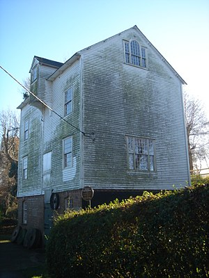 Ifield Water Mill - The mill from the northeast