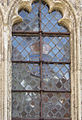 Ightham Mote England 001 Medieval armorial leadlight crop.JPG