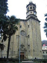 Iglesia de San Andrés en Eibar.