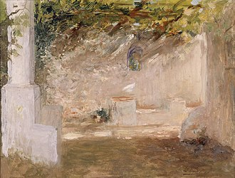 Luminism (Impressionism) - Image: Ignacio Pinazo Camarlench Emparrado