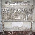 Ignoto, sarcofago di niccolò de merloto, m. 1350.JPG