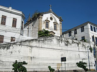 Saúde, Rio de Janeiro - São Francisco da Prainha Church, at Saúde
