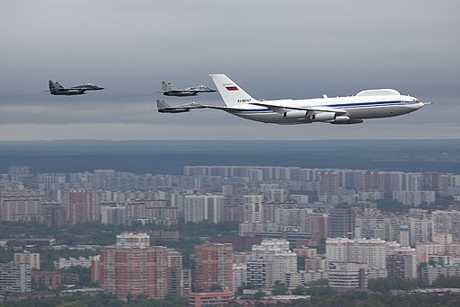Ilyushin Il-80 over Moscow 6 May 2010