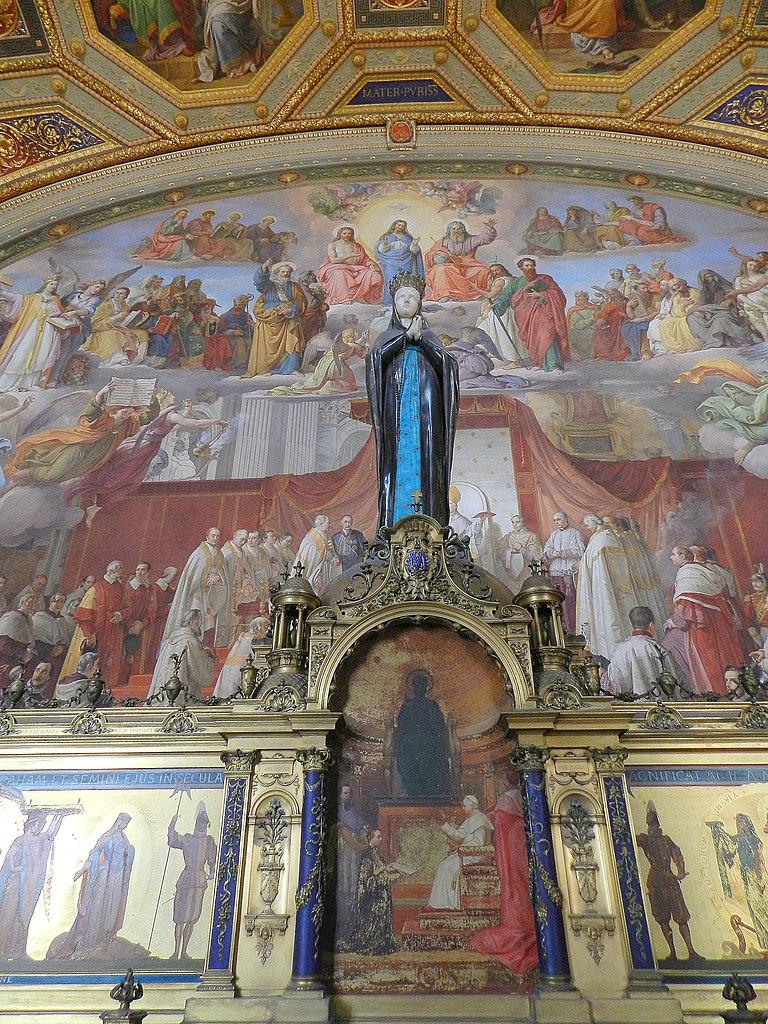 Statue de l'Immaculée conception, Sala dell'Immacolata, musée du Vatican - Photo de Guerinf