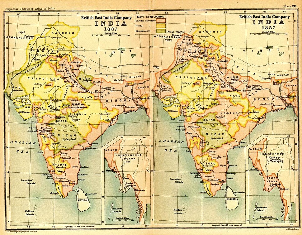 India1837to1857