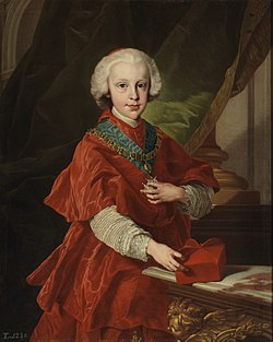 Infante Don Luis of Spain, Archbishop of Toledo and Primate of Spain, by Louis Michel van Loo.jpg
