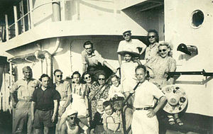 Estonian Argentines - Estonian immigrants who arrived in Argentina from Germany in 1949.