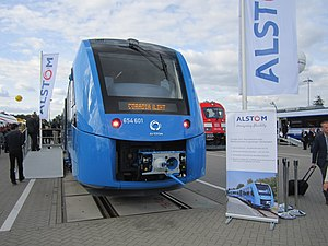 Hydrail - Debut of the Alstom Coradia iLint at InnoTrans 2016