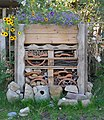 Insect Hotel, Findhorn Foundation (geograph 3645276).jpg